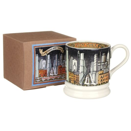 New York 1 Pint Boxed Mug