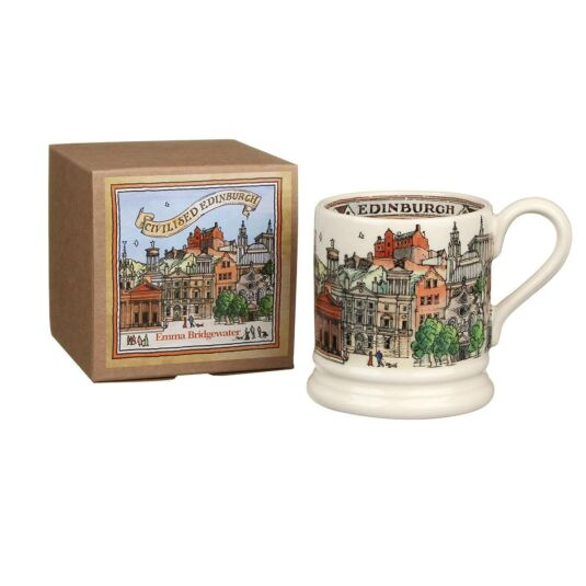 Edinburgh Half Pint Boxed Mug
