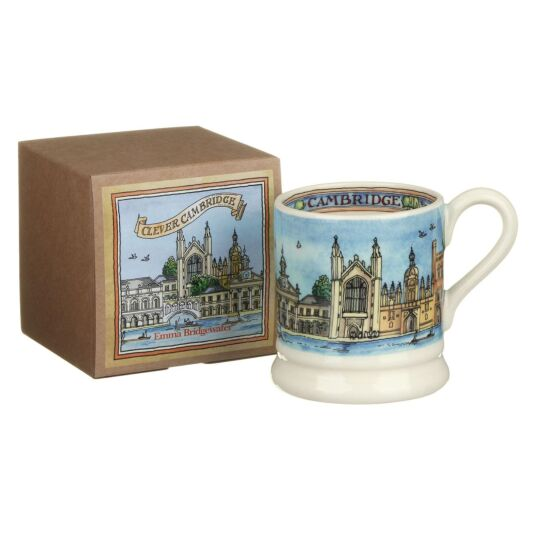 Cambridge Half Pint Boxed Mug