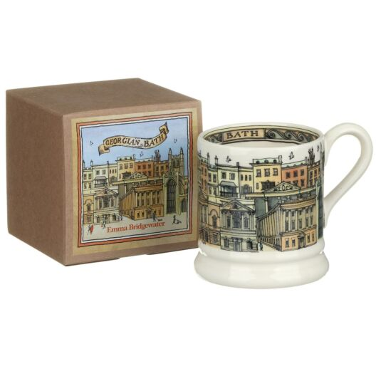 Bath Half Pint Boxed Mug