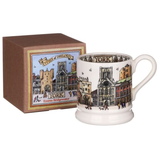 York Half Pint Boxed Mug