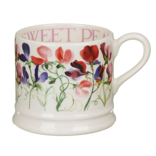 Sweet Pea Multi-Coloured Small Mug