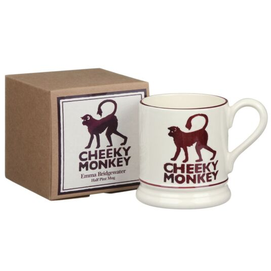Cheeky Monkey Half Pint Boxed Mug