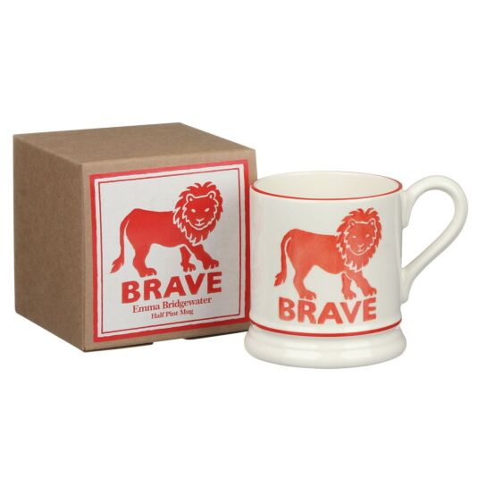 Brave Lion Half Pint Boxed Mug
