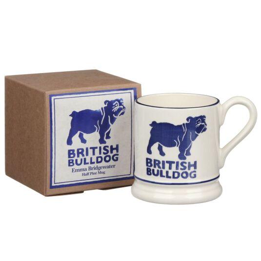 British Bulldog Half Pint Boxed Mug