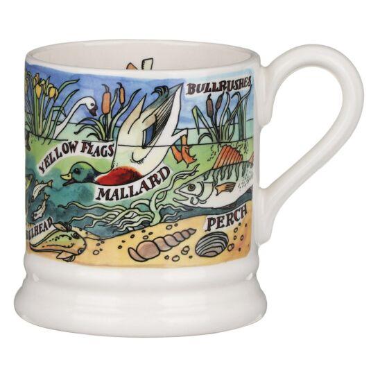 River & Shore Freshwater Half Pint Mug
