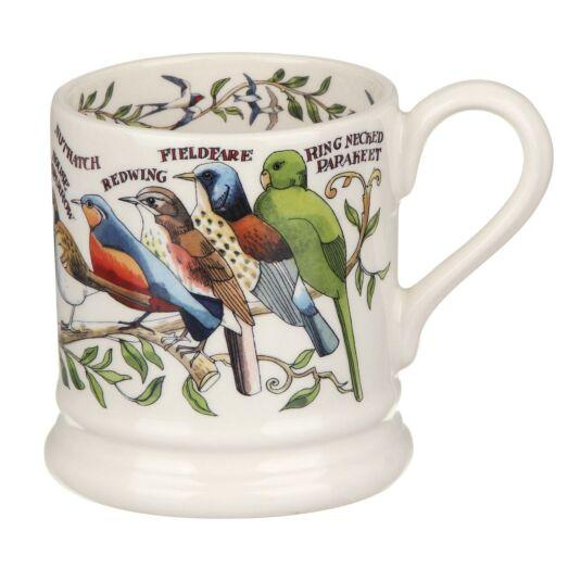 Garden Birds Half Pint Mug