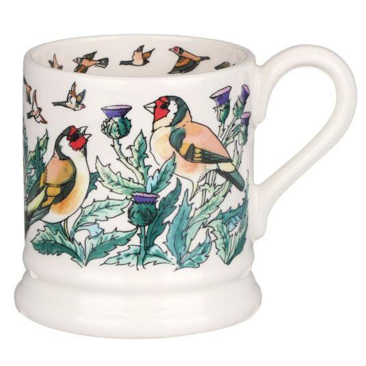 Goldfinches Half Pint Mug