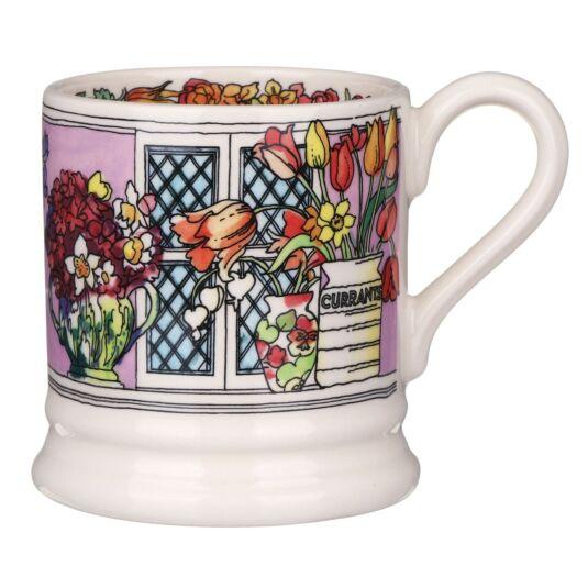 Flowers & Vases Half Pint Mug