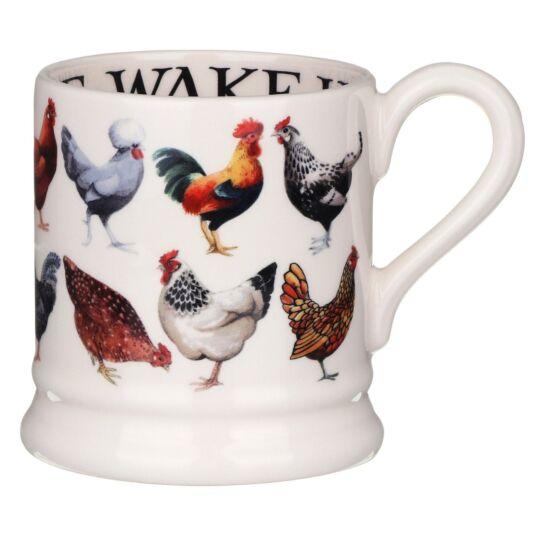 Hen & Toast Half Pint Mug