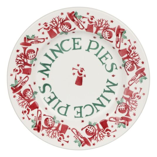Joy Trumpets 'Mince Pies' 8½ Inch Plate