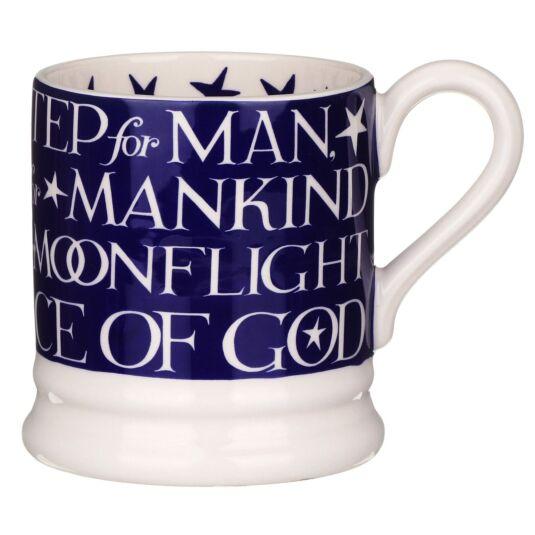 Moon Landing Script Half Pint Mug