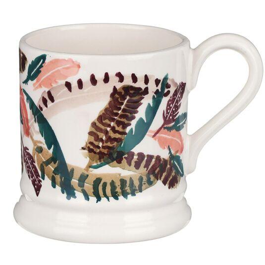 Pheasant Feathers Half Pint Mug