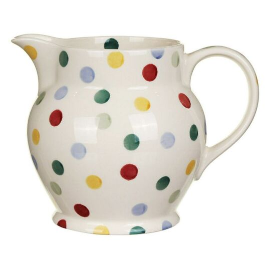 Polka Dot Three Pint Jug
