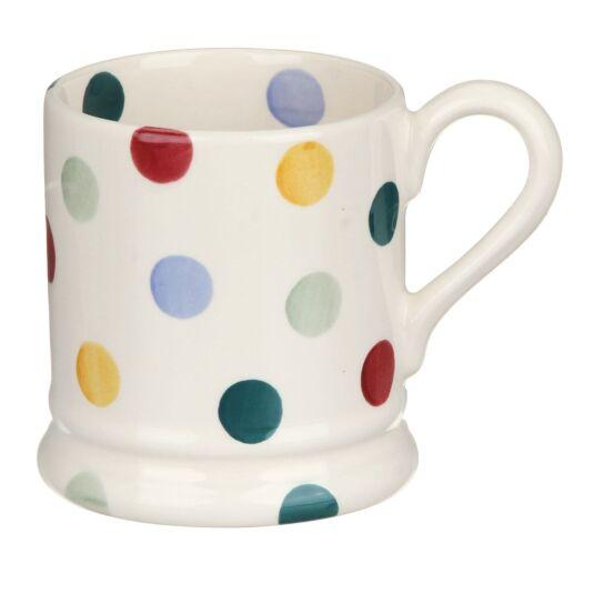 Polka Dot Half Pint Mug