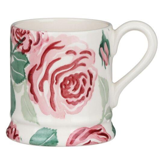 Pink Roses Half Pint Mug