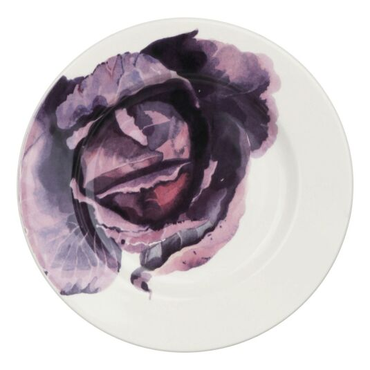 Red Cabbage 8½ Inch Plate