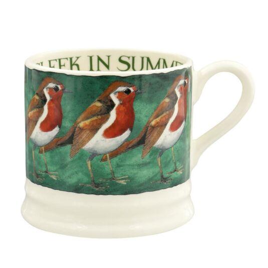 Robin On The Green Small Mug