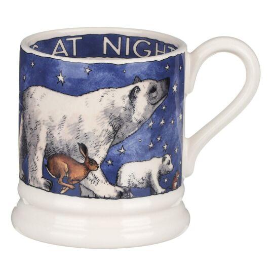 Winter Animals Half Pint Mug