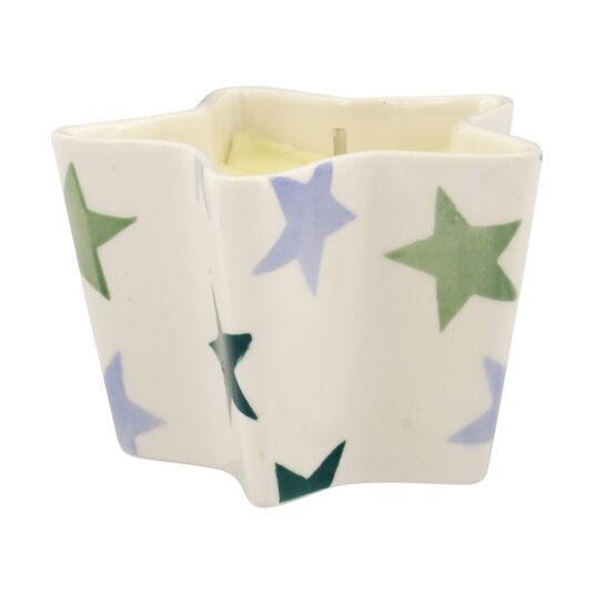 Winter Star Candle Dish