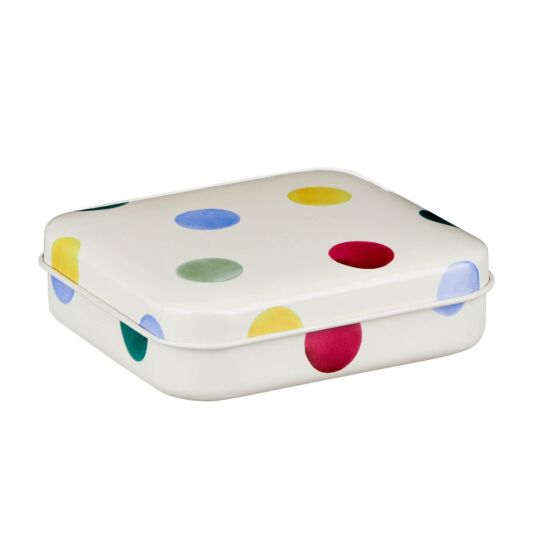 Polka Dot Pocket Tin