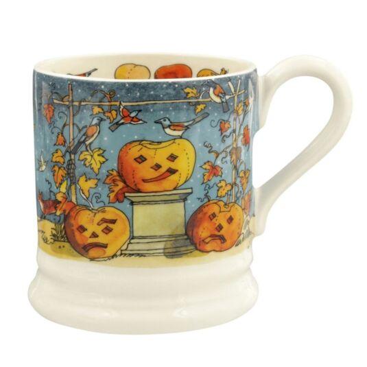 Halloween Litho Half Pint Mug