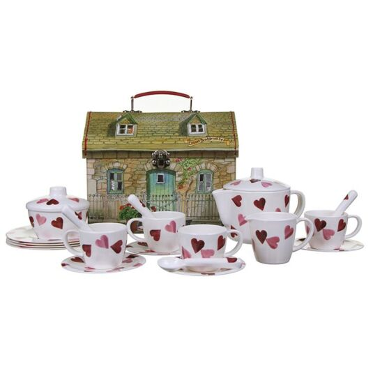 Hearts Children Melamine Tea Set