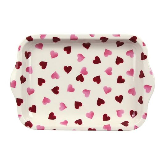 Hearts Small Melamine Tray