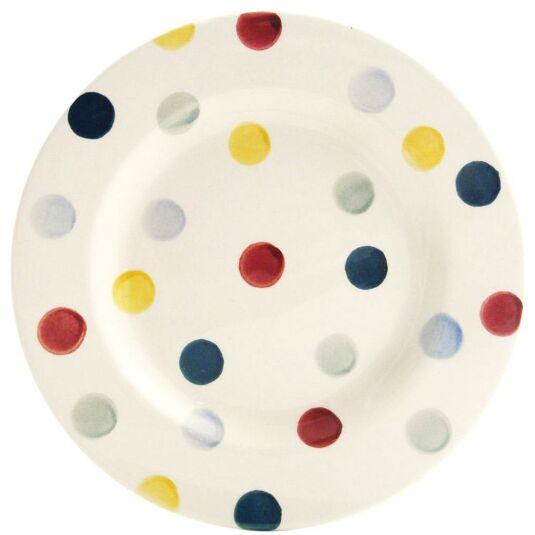 Polka Dot 6 1/2 Inch Plate
