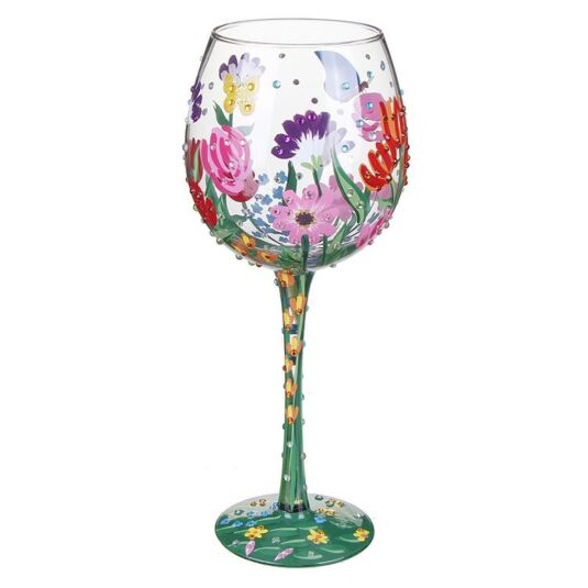 Lolita Spring Bling Extra Large Wine Glass Temptation Gifts