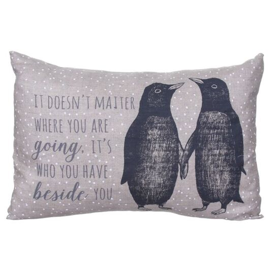 Penguins Long Cushion