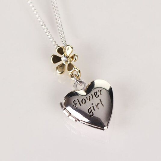 Flower Girl Necklaces