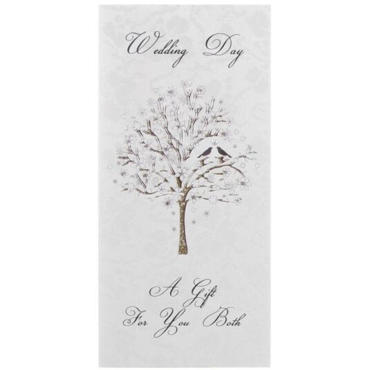 Wedding Gift Money Wallet - Tree