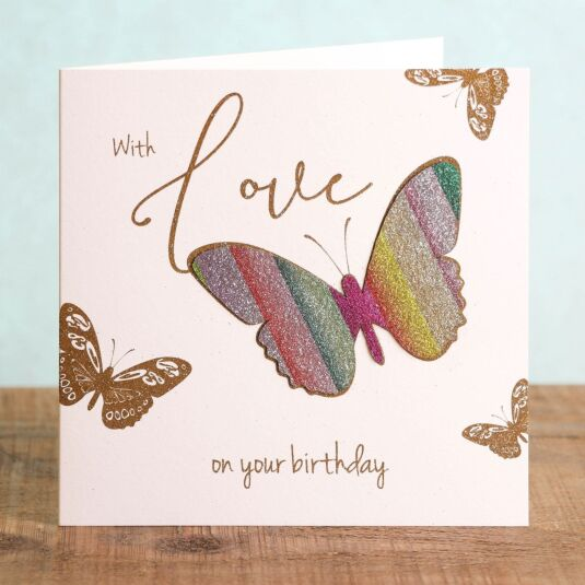 'With Love on Your Birthday' Card