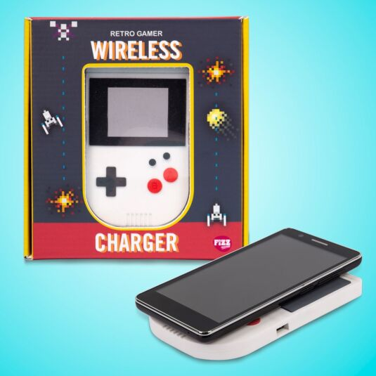 Retro Gamer Wireless Phone Charger