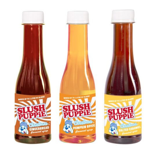 Slush Puppie Pack of 3 Christmas Syrups