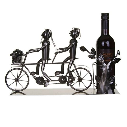 Lucy and Lee Tandem Wine Bottle Holder