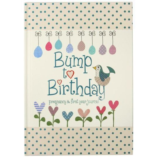 Bump To Birthday Journal