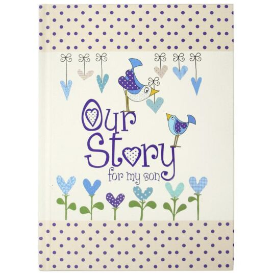 Our Story - For My Son Journal