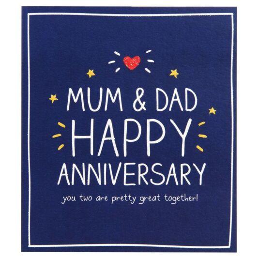 Happy jackson mum dad anniversary card temptation gifts