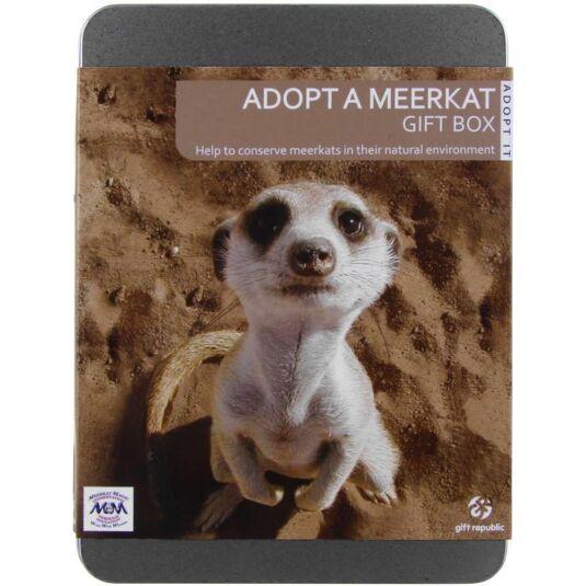 Adopt a Meerkat Gift Experience Tin