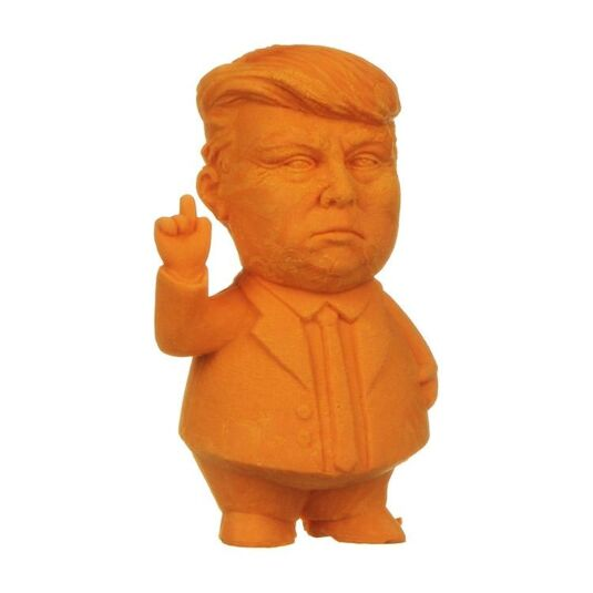 Orange Presidential Eraser