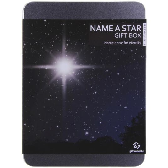 Name a Star Gift Experience Tin