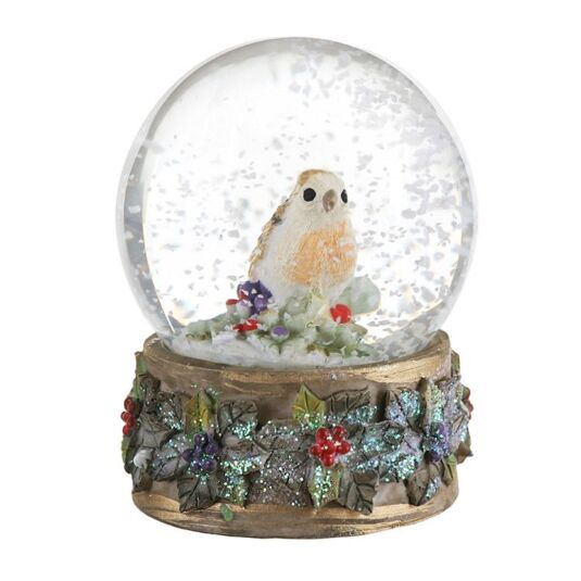 Robin Medium Snowglobe
