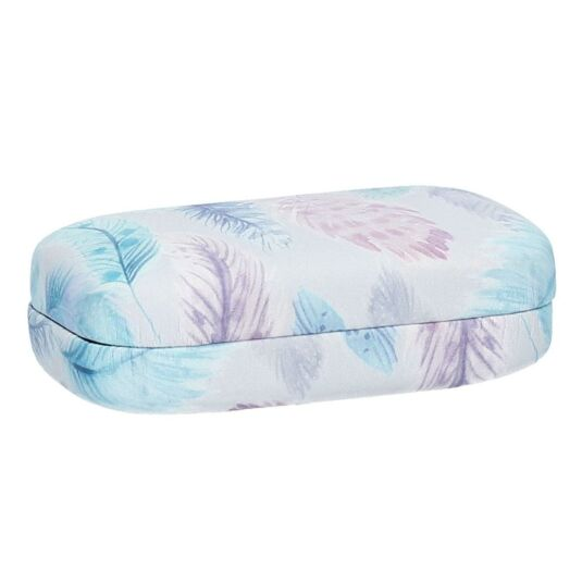 Pastel Feathers Mini Hard Case