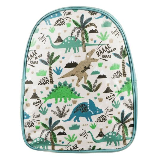 Dinosaurs Small Matte PVC Backpack