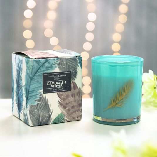 Camomile & Vetiver Boxed Mini Candle Pot