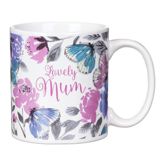 'Lovely Mum' Ceramic Mug