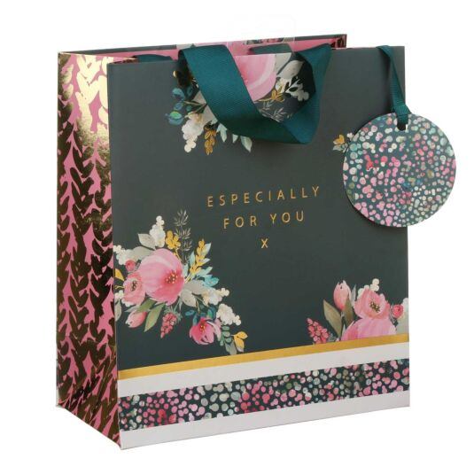 Floral Confetti Medium Gift Bag