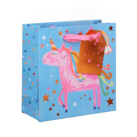 Fun Unicorns Small Gift Bag